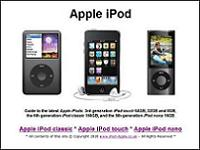 Apple iPod touch, nano & classic