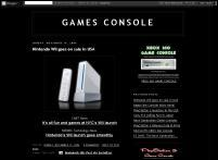 GAMES CONSOLE blog